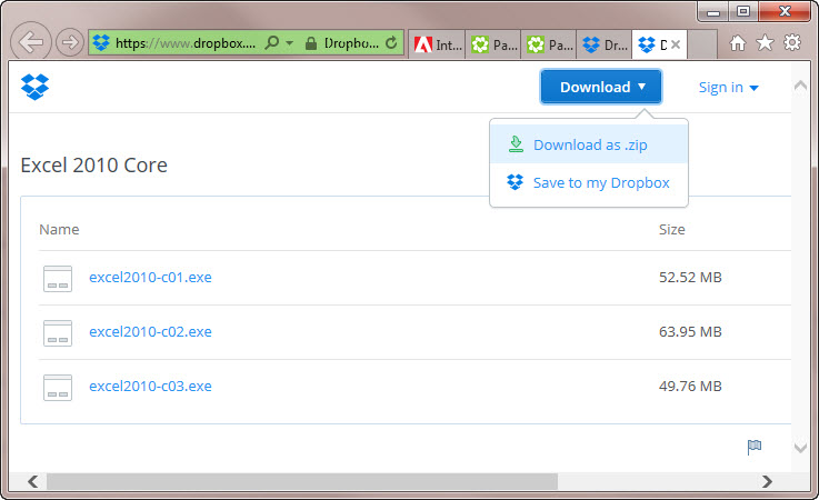 Download a Program File from a Dropbox Link (on a PC) – Fred Pryor